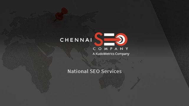 National SEO Services In Chennai | Chennai SEO Company